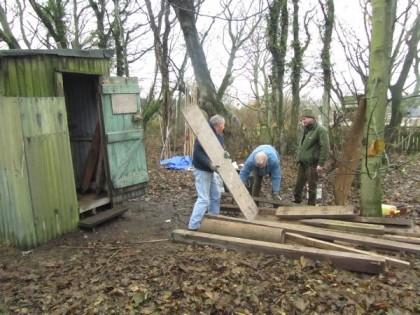 Sorting wood